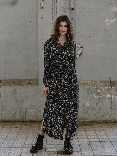 J-LAB3L | Maxi dress Nalini animal dot
