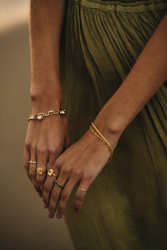 TAJ | Bracelet Dione Gold