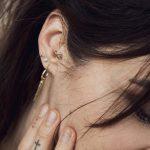 TAJ | Cone Earring Nuru Gold