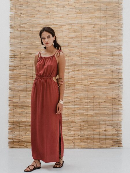 J-LAB3L | Maxi Dress Priya Berry