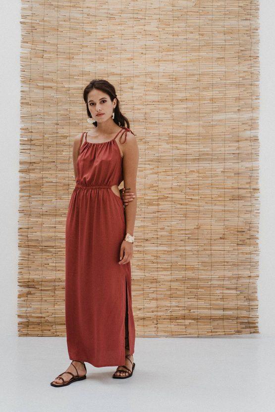 J-LAB3L | Maxi Dress Priya Berry