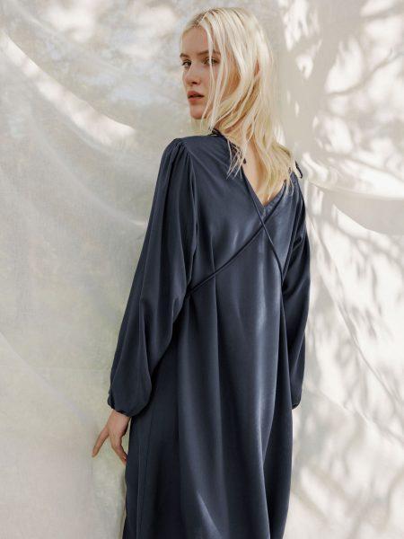 Armedangels | Kleid Ileanaa Indigo Jurk