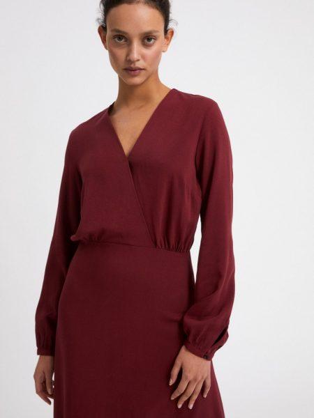 Armedangels | Aleixaa Ruby Red Dress